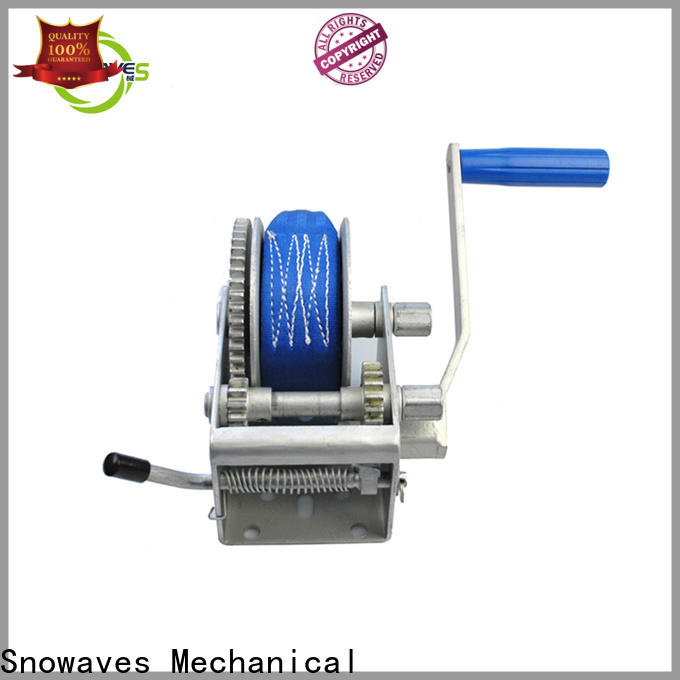 High-quality manual trailer winch manufacturers for car