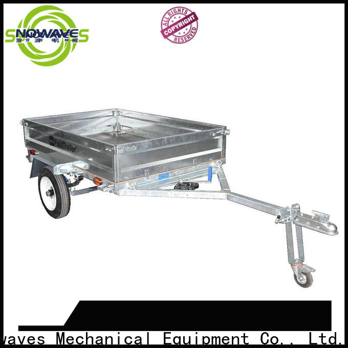 Snowaves Mechanical Best foldable trailer suppliers for trips