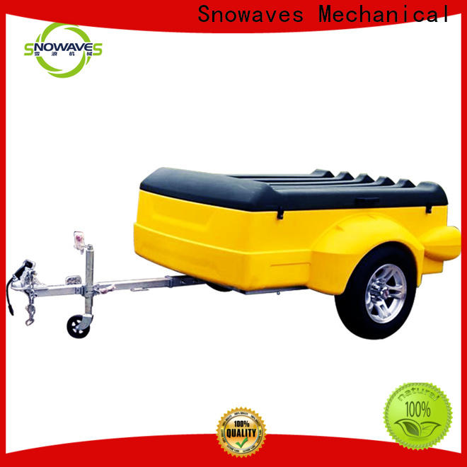 Custom luggage trailer waterproof company for no cable