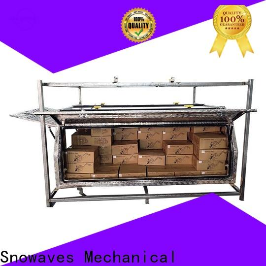 Snowaves Mechanical Top aluminum truck tool boxes factory for picnics