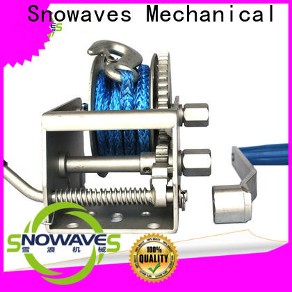 Snowaves Mechanical winch marine winch for business for one-way trips