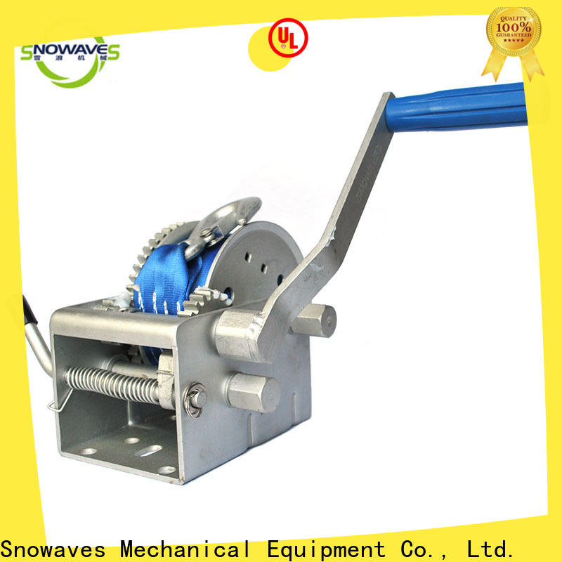Snowaves Mechanical pulling marine winch supply for camp