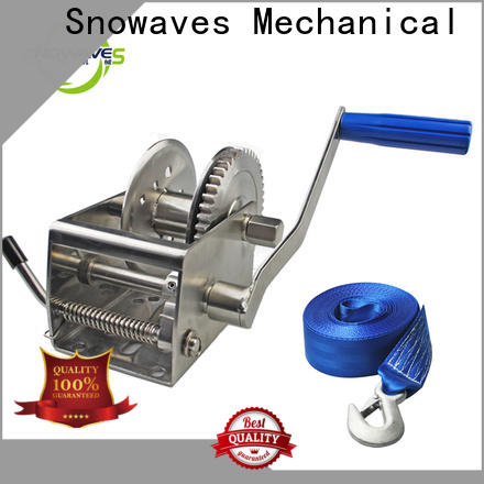 Snowaves Mechanical Best marine winch suppliers for camp