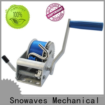 Snowaves Mechanical speed manual winch supply for outings