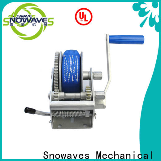New hand winches for business for car