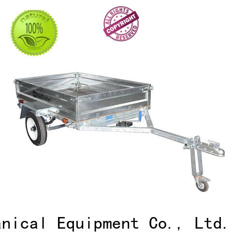 Snowaves Mechanical fold up trailer supply for one-way trips