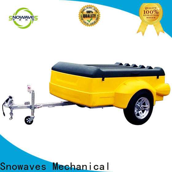Snowaves Mechanical camping plastic utility trailer manufacturers for webbing strap