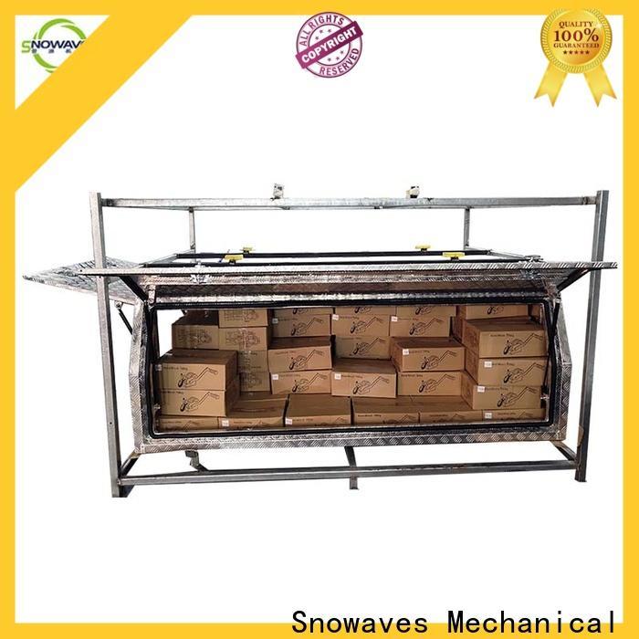 Snowaves Mechanical aluminum custom aluminum tool boxes company for camping
