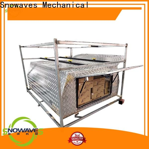 Snowaves Mechanical Latest custom aluminum tool boxes for sale for camping