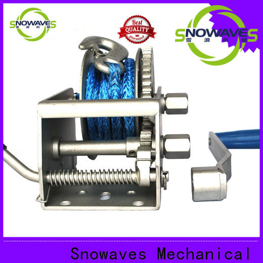 Snowaves Mechanical Latest marine winch company for camp