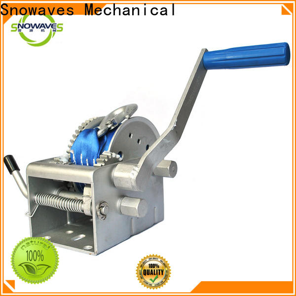 Snowaves Mechanical pulling marine winch factory for one-way trips