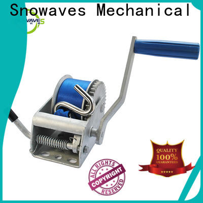 Snowaves Mechanical Wholesale hand winches company for picnics