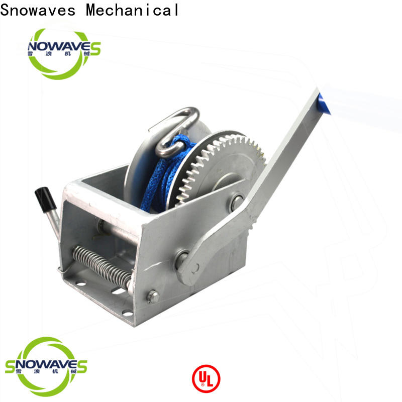 Snowaves Mechanical High-quality manual winch for business for picnics