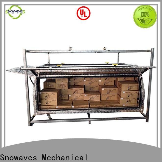 Snowaves Mechanical box custom aluminum tool boxes suppliers for car
