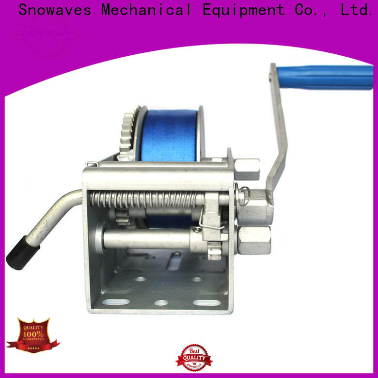 Snowaves Mechanical New marine winch suppliers for trips