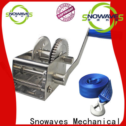 High-quality marine winch trailer company for trips