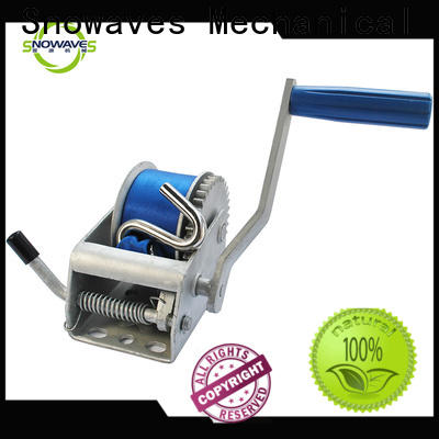 Snowaves Mechanical Best manual trailer winch supply for car