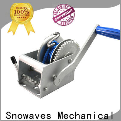 Snowaves Mechanical hand hand winches for sale for car