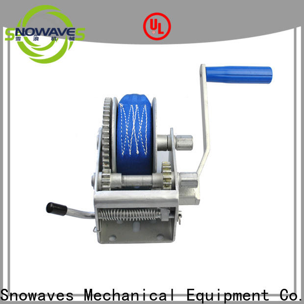 Custom manual trailer winch trailer supply for outings