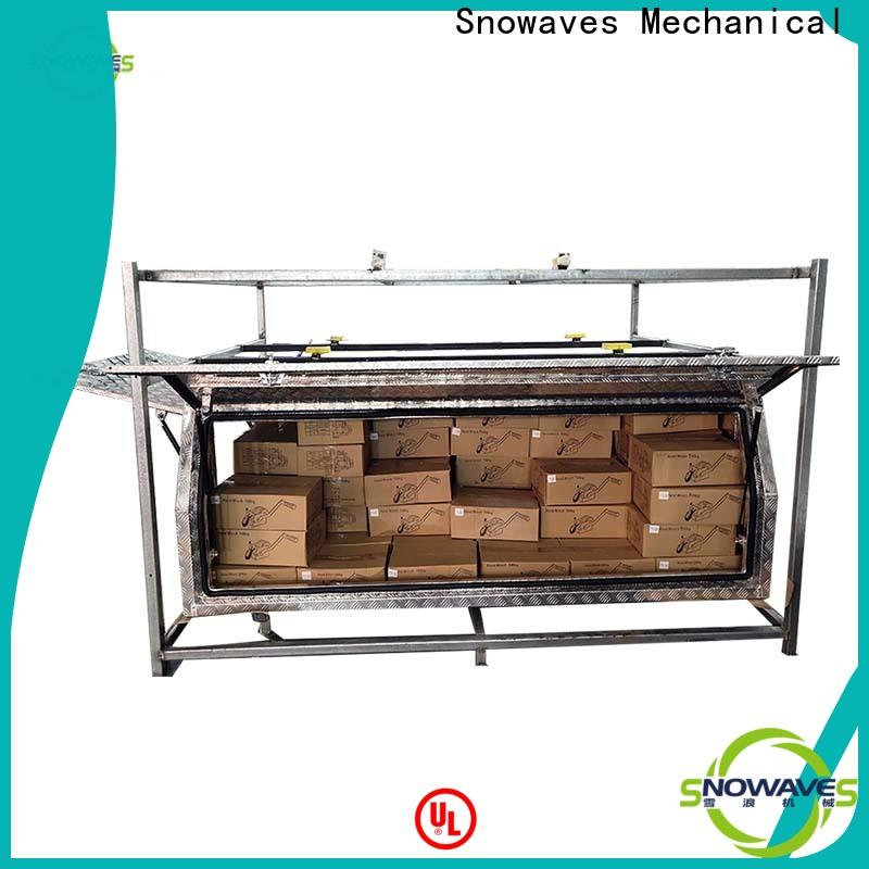 Snowaves Mechanical Top aluminium tool box for business for camping