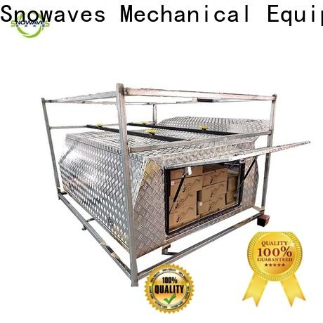 Snowaves Mechanical aluminum aluminum truck tool boxes for business for picnics