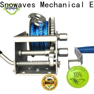 Snowaves Mechanical Top marine winch factory for one-way trips