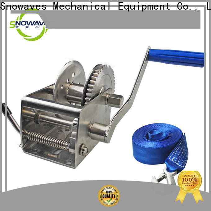 Latest marine winch single manufacturers for trips