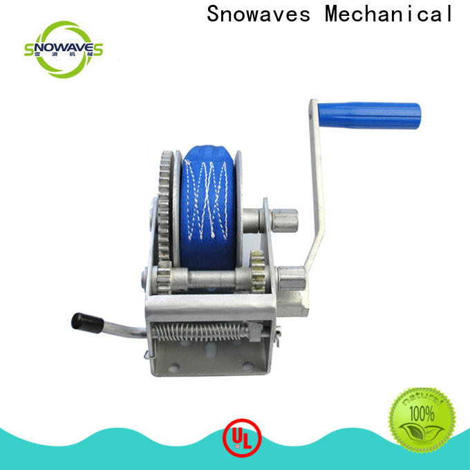 Snowaves Mechanical manual winch factory for car