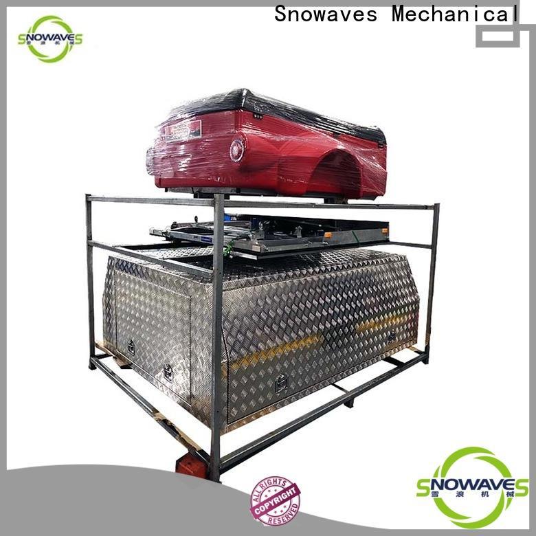 Snowaves Mechanical New aluminum trailer tool box manufacturers for picnics