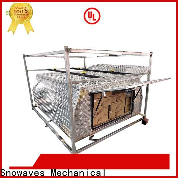 Snowaves Mechanical truck aluminium tool box factory for car