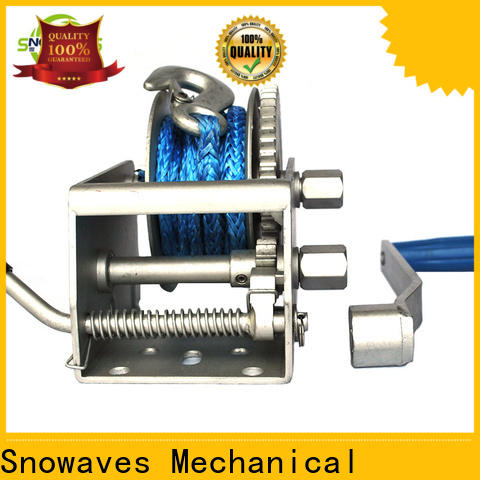 Snowaves Mechanical Best marine winch for sale for camp