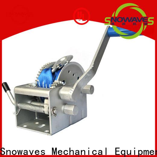 Snowaves Mechanical Custom marine winch supply for picnics