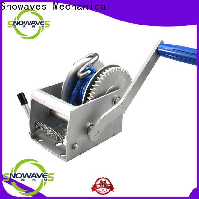 Snowaves Mechanical single hand winches for business for camping