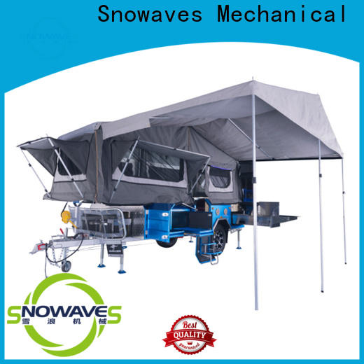 Snowaves Mechanical Wholesale fold up trailer company for activities
