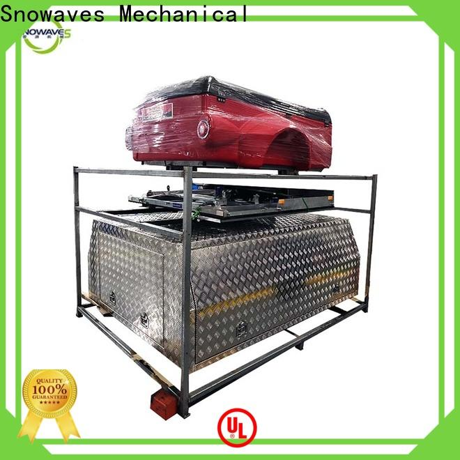 Snowaves Mechanical truck custom aluminum tool boxes suppliers for car
