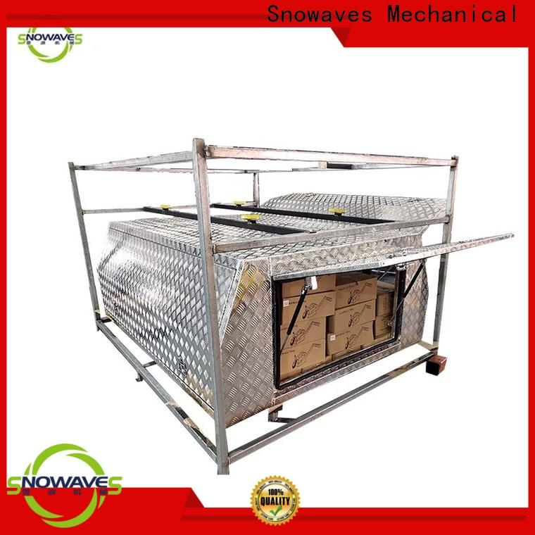 Snowaves Mechanical boxes aluminum trailer tool box manufacturers for car