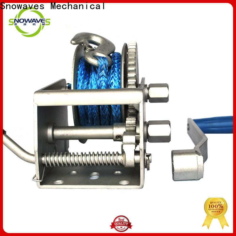 Snowaves Mechanical New marine winch manufacturers for picnics