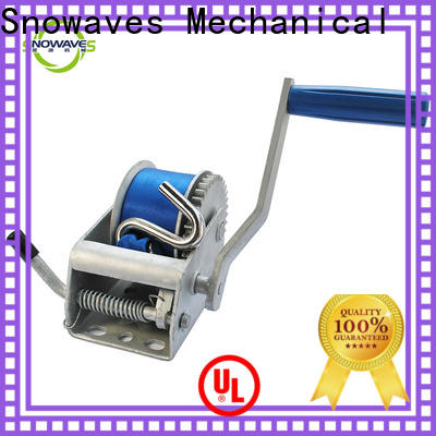 Snowaves Mechanical High-quality manual trailer winch company for car