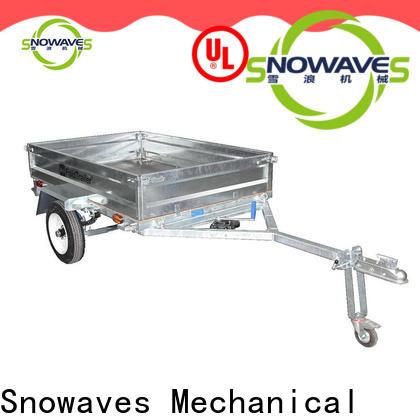 Snowaves Mechanical Custom foldable trailer factory for camp