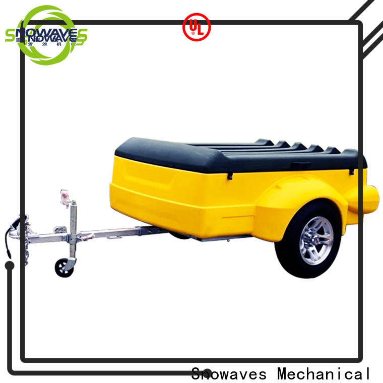 Snowaves Mechanical Latest plastic utility trailer suppliers for outdoor activities