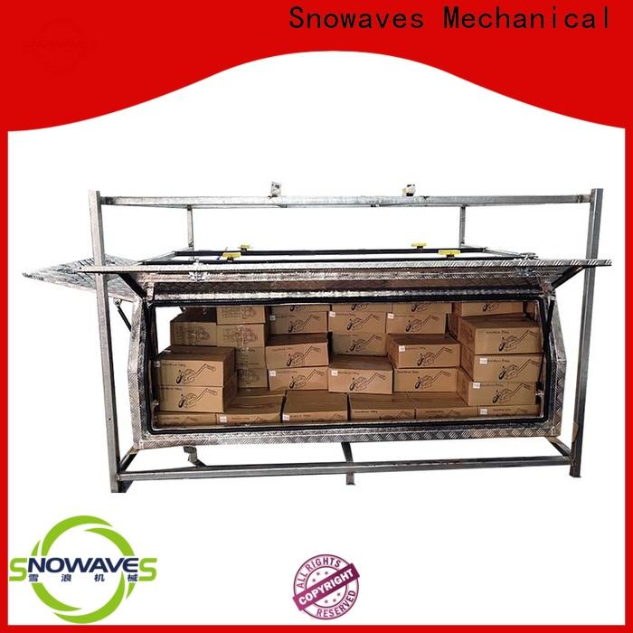 Snowaves Mechanical tool aluminum truck tool boxes company for picnics