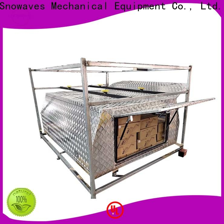 Snowaves Mechanical Top custom aluminum tool boxes suppliers for camping