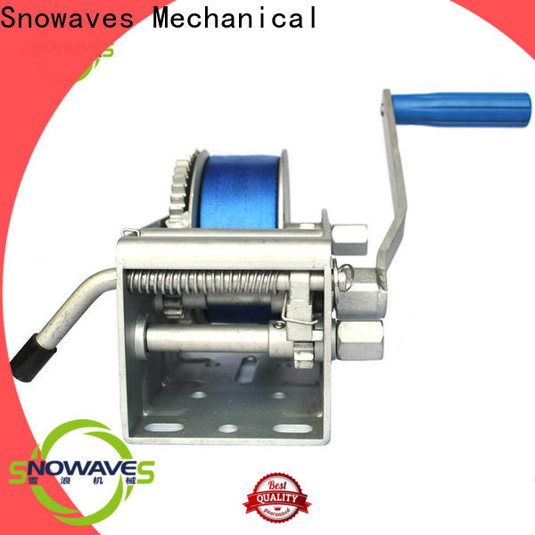 Snowaves Mechanical Wholesale marine winch for sale for trips