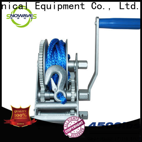 Snowaves Mechanical marine winch company for trips