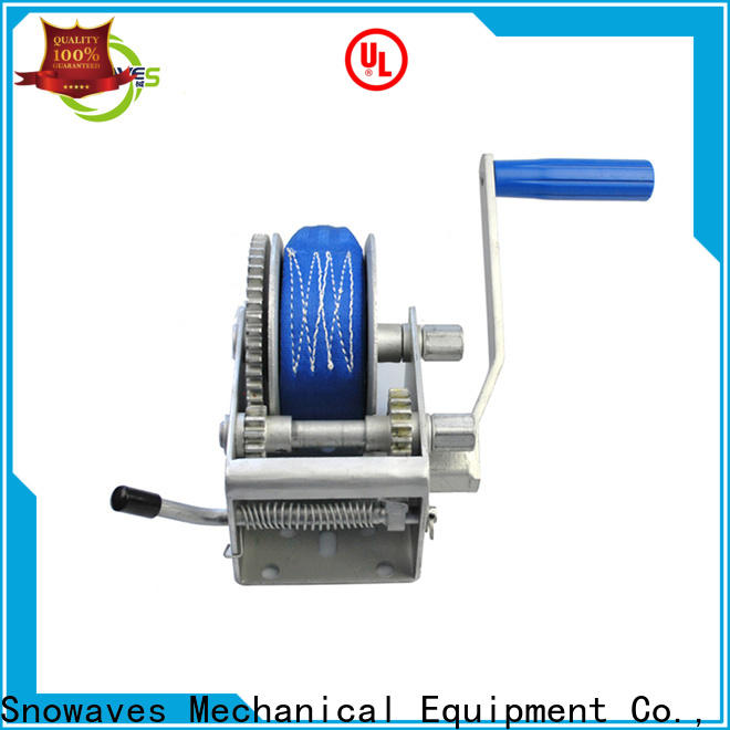 High-quality manual winch single for sale for camping
