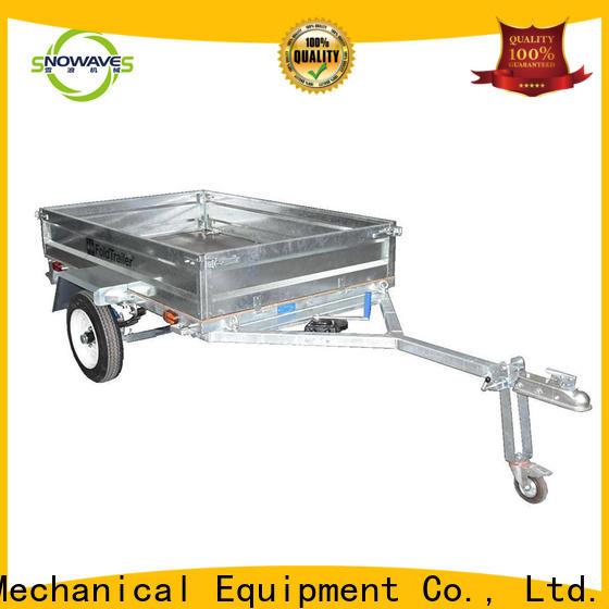 Snowaves Mechanical Wholesale fold up trailer for business for camp