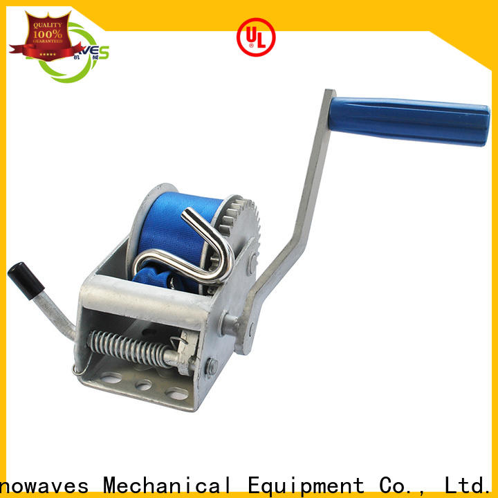 Snowaves Mechanical hand boat hand winch suppliers for picnics