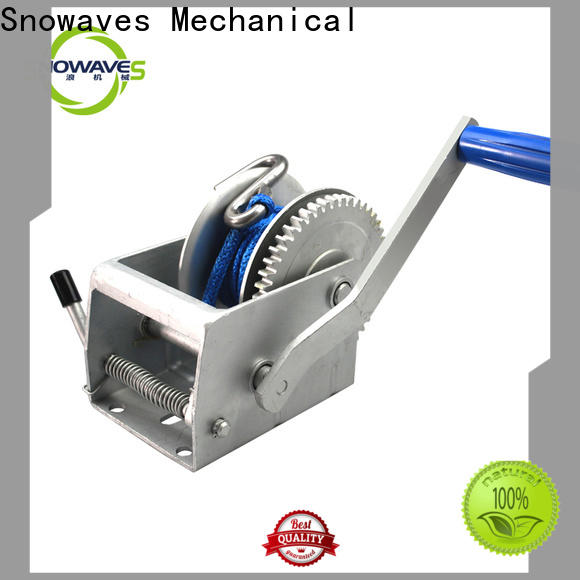 Snowaves Mechanical Latest manual winch supply for car