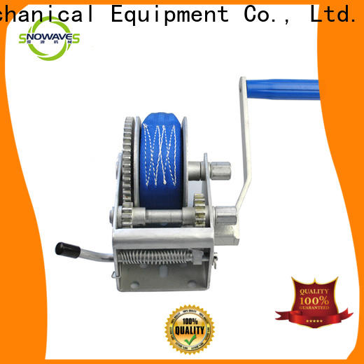 Snowaves Mechanical Top boat hand winch for business for car