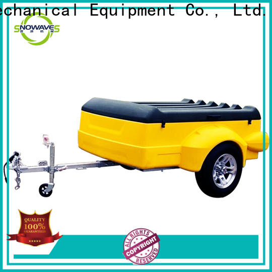 Snowaves Mechanical trailers plastic utility trailer manufacturers for webbing strap